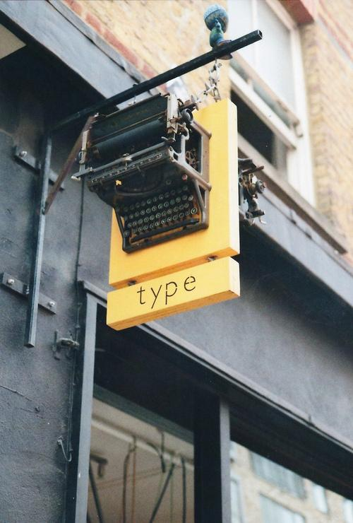 Typeverything.com - Nice sign. (Photo by anne... - Typeverything