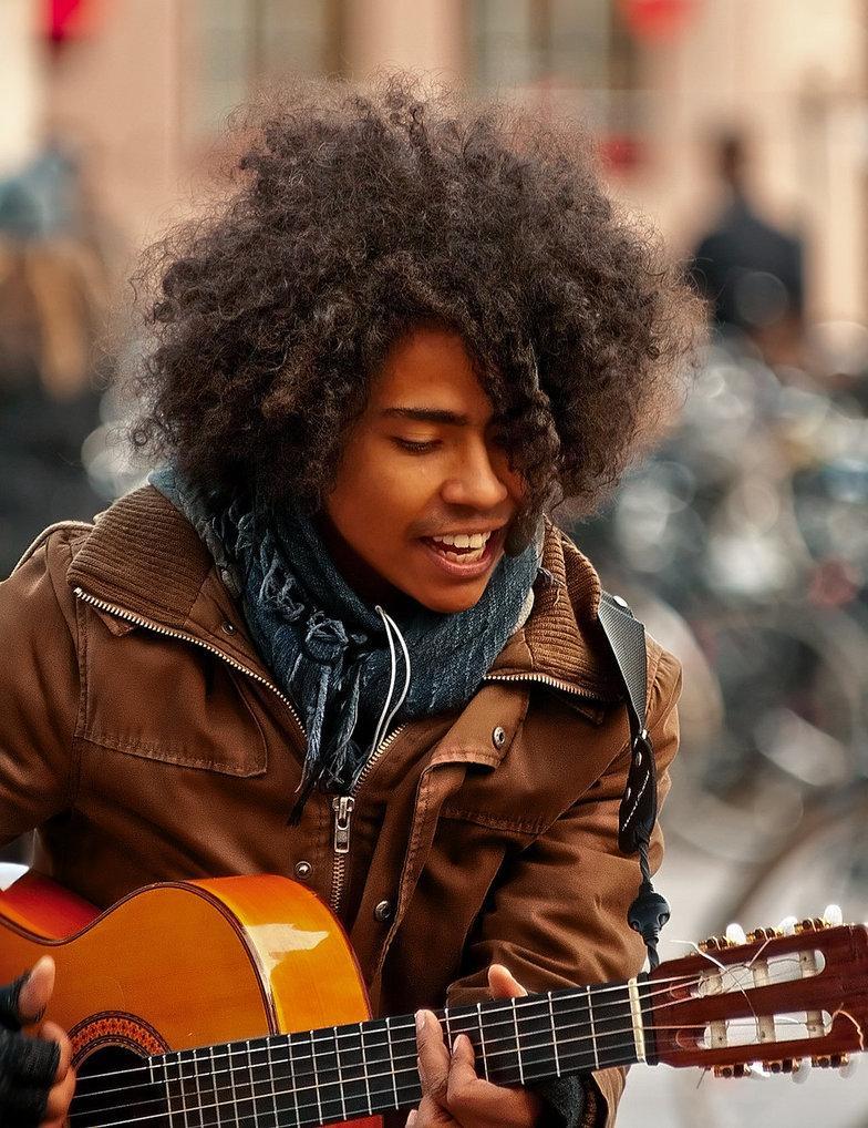 Street musician by *Leo-SA