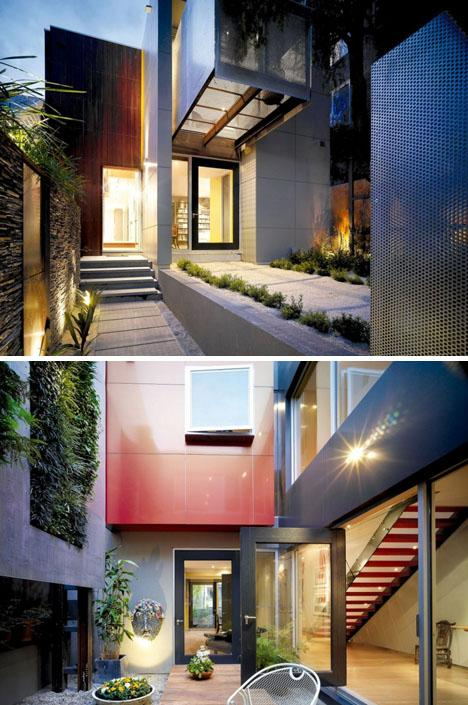 Single-Family City Home Marries Modernism with Greenery | Designs & Ideas on Dornob