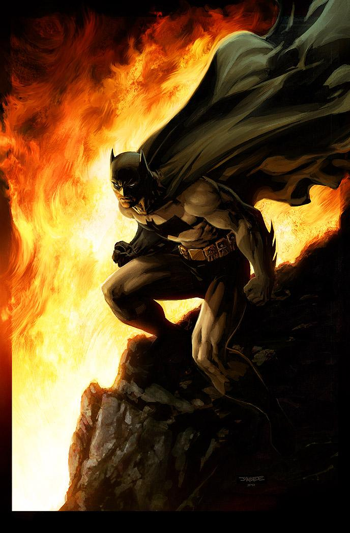 Batman- Inferno by *JPRart