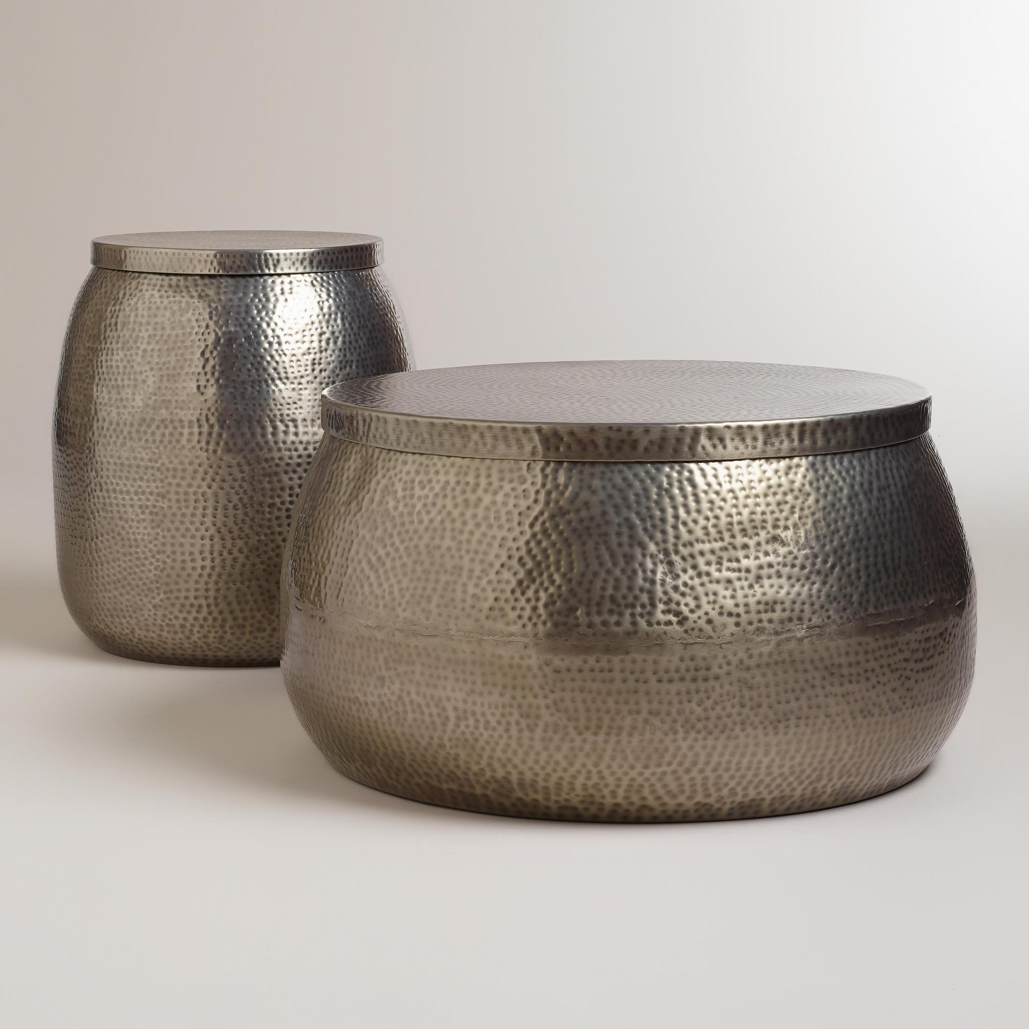 Hammered Metal Drum Table Bookmark your favorite images with Wookmark. Sign up Log in Learn more