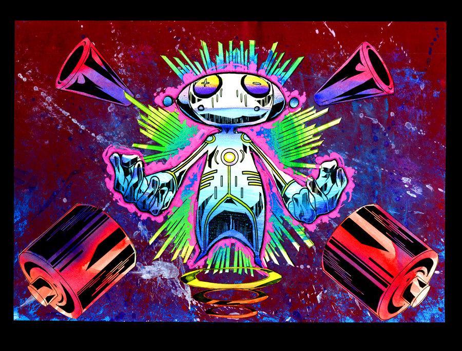 Blast Out Loud by ~Mikhailangelo