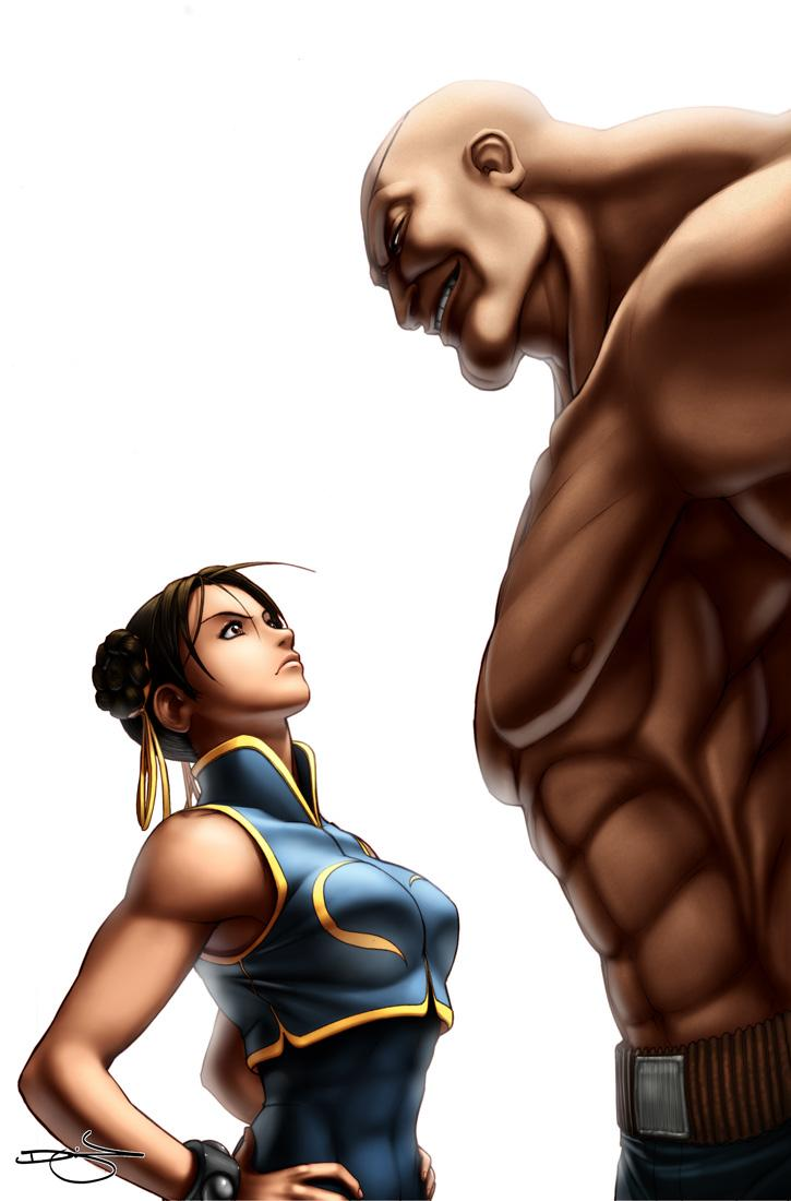 SF Legends Chun-Li 4A by #UdonCrew