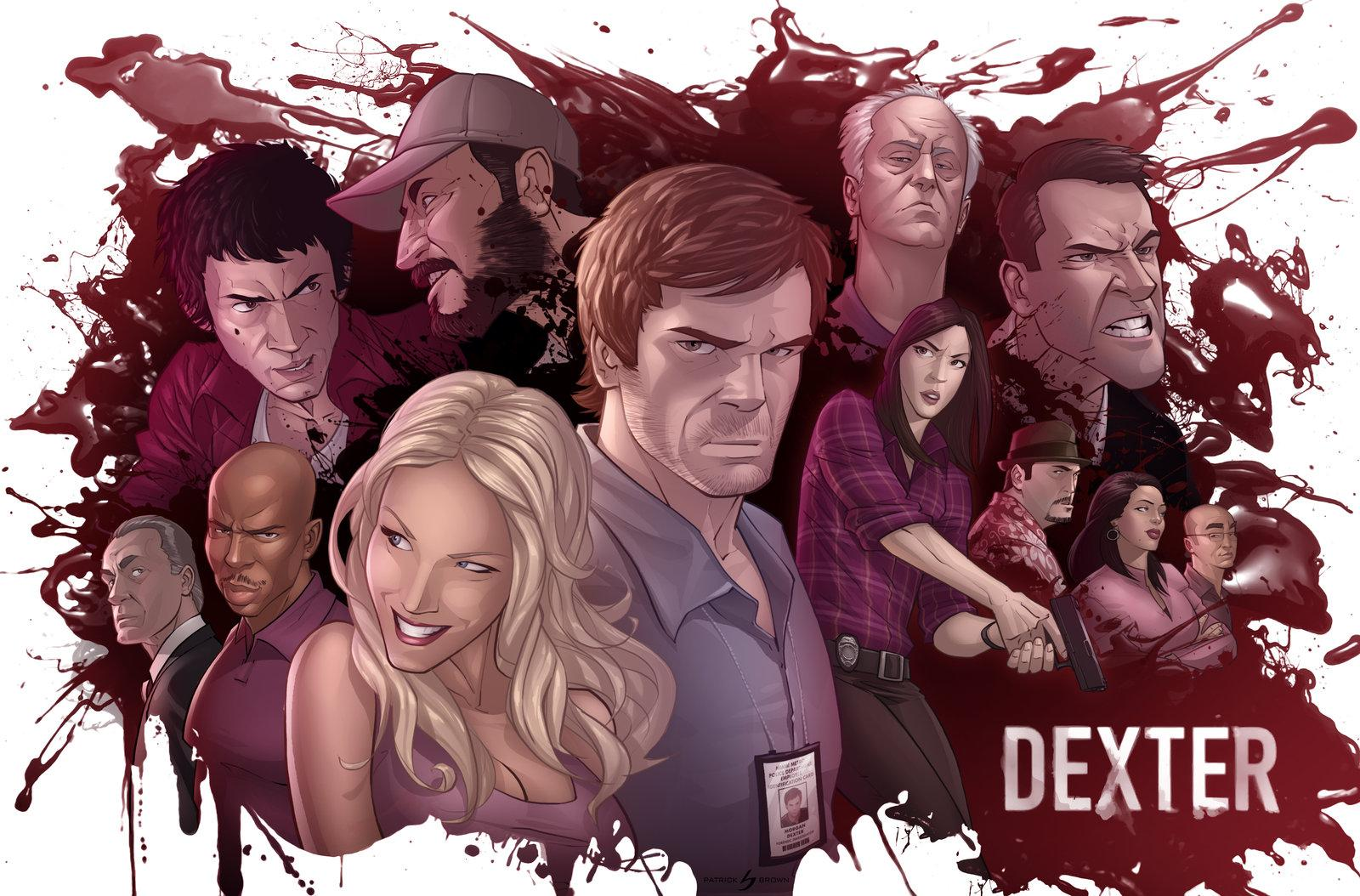 Dexter: The Dark Defender by *patrickbrown