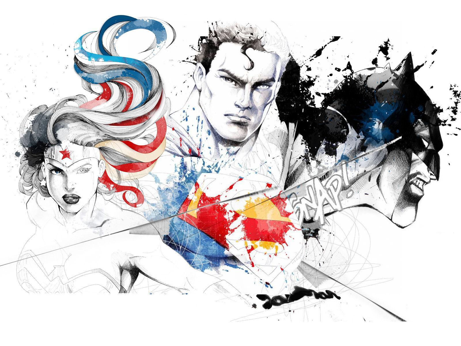 Trinity by David Despau by ~Superman8193