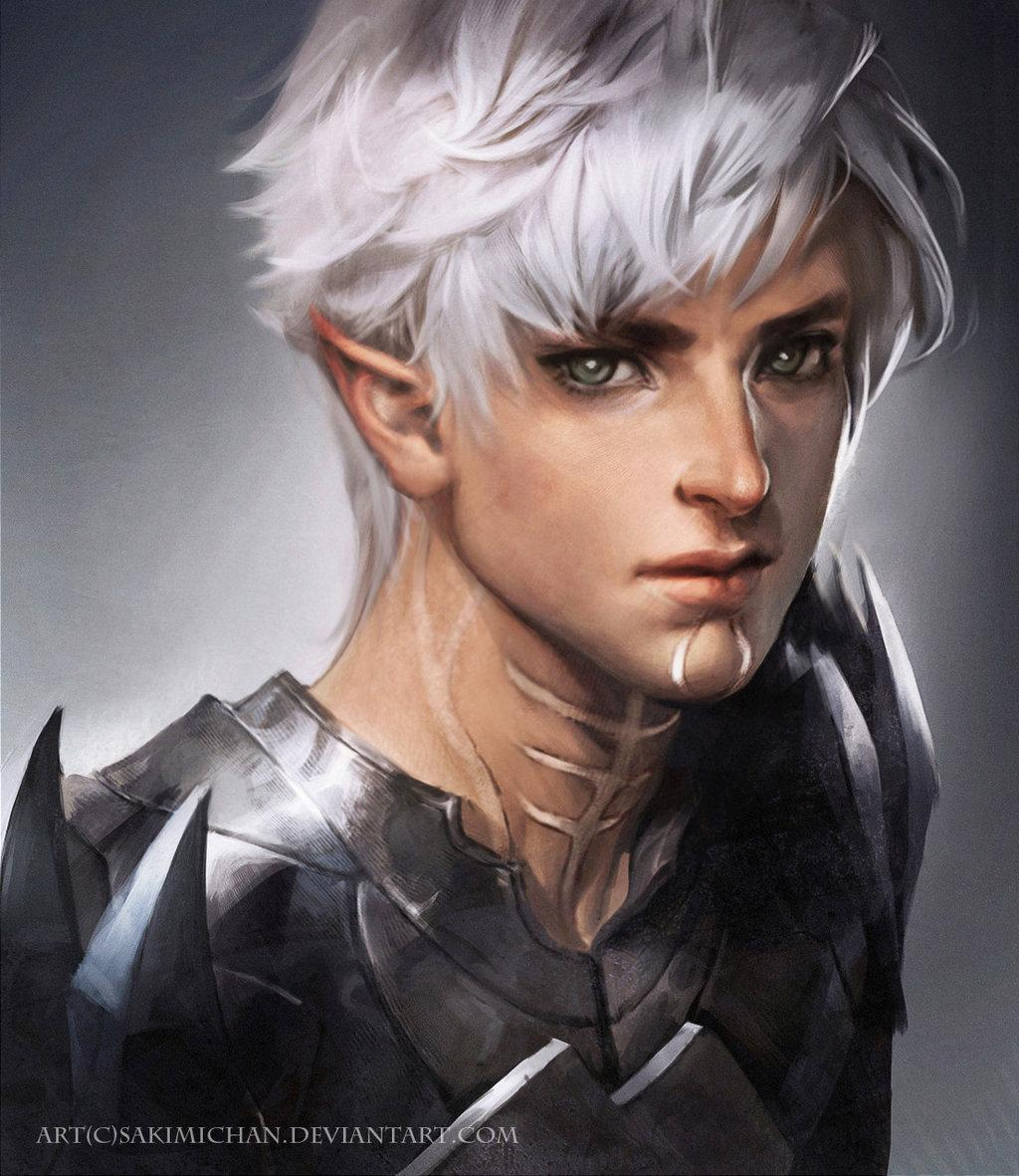 Fenris Dragon age II by =sakimichan