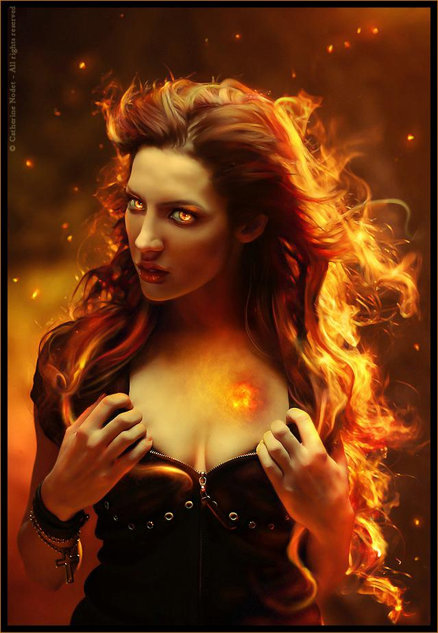 Heart of fire by *chymere