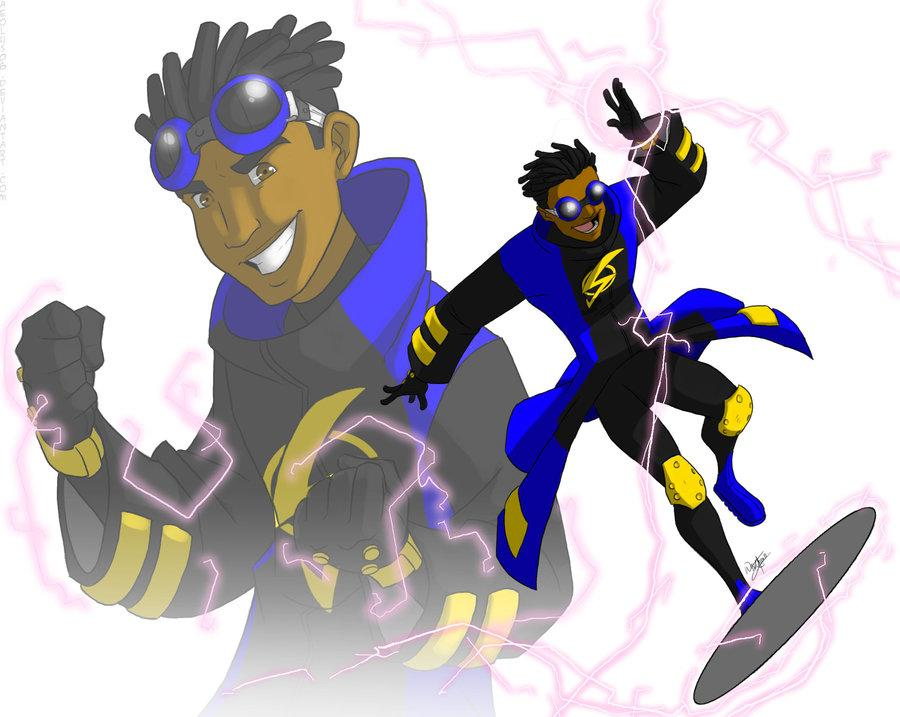 Static Shock: my design by =aeolus06