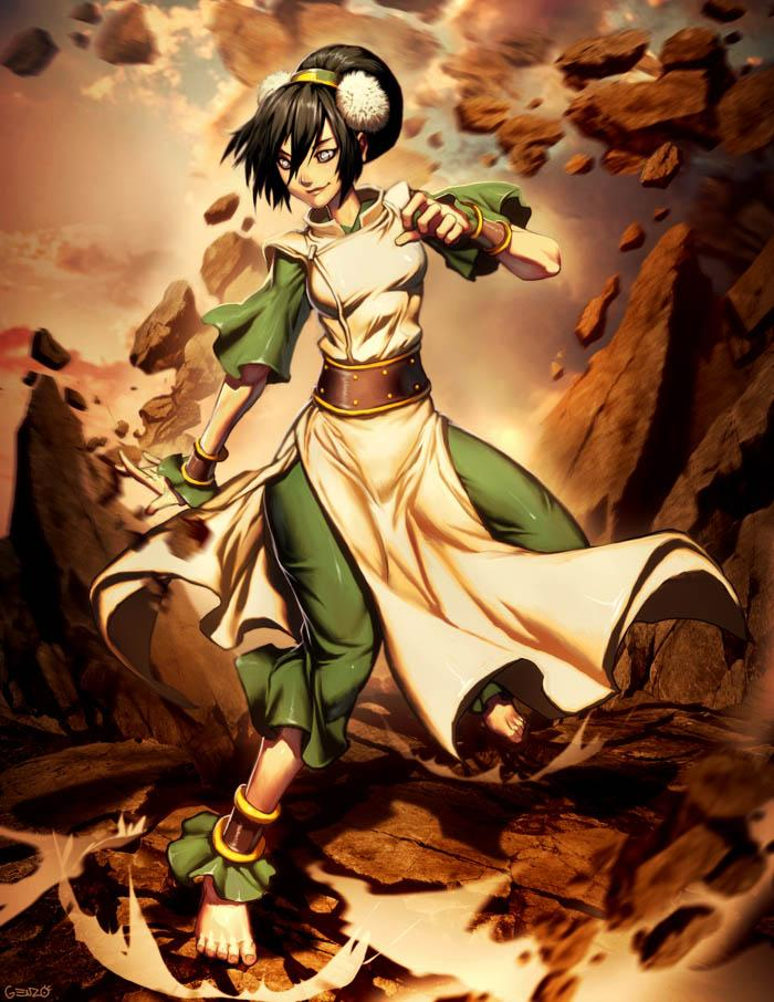 Avatar - Toph by *GENZOMAN