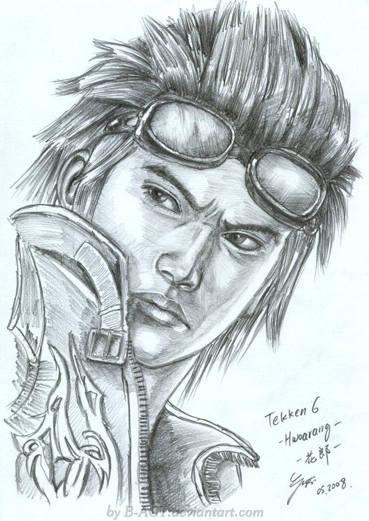 Hwoarang Tekken by *B-AGT