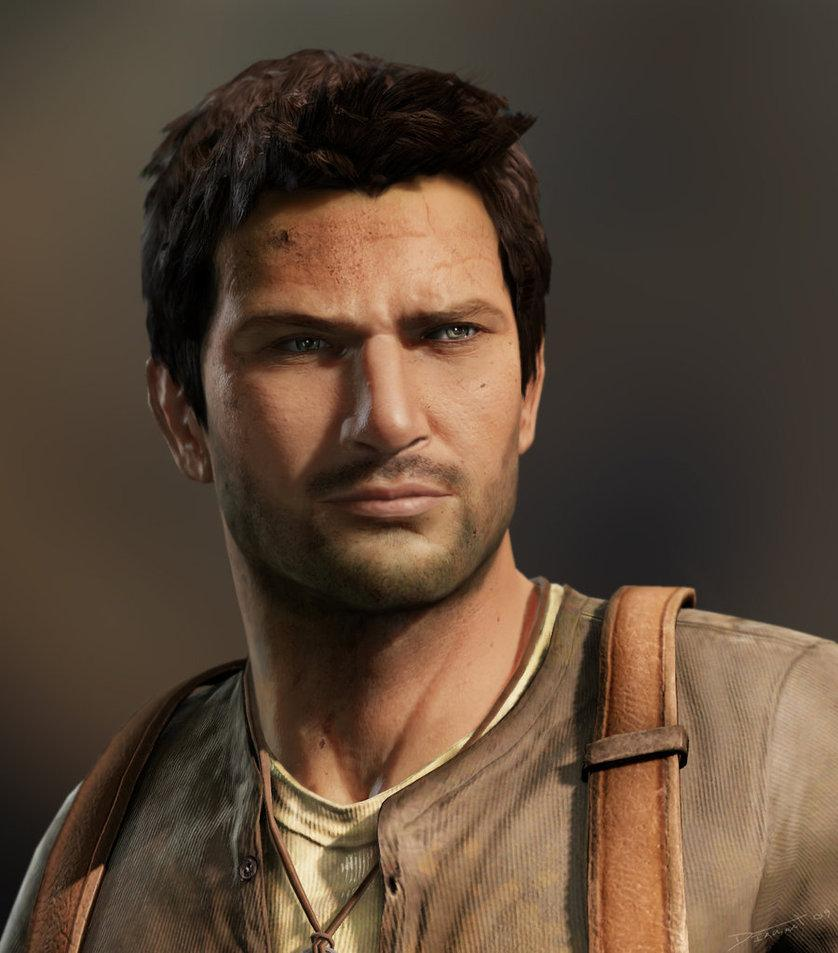Nathan Drake by ~Requium-for-Kira