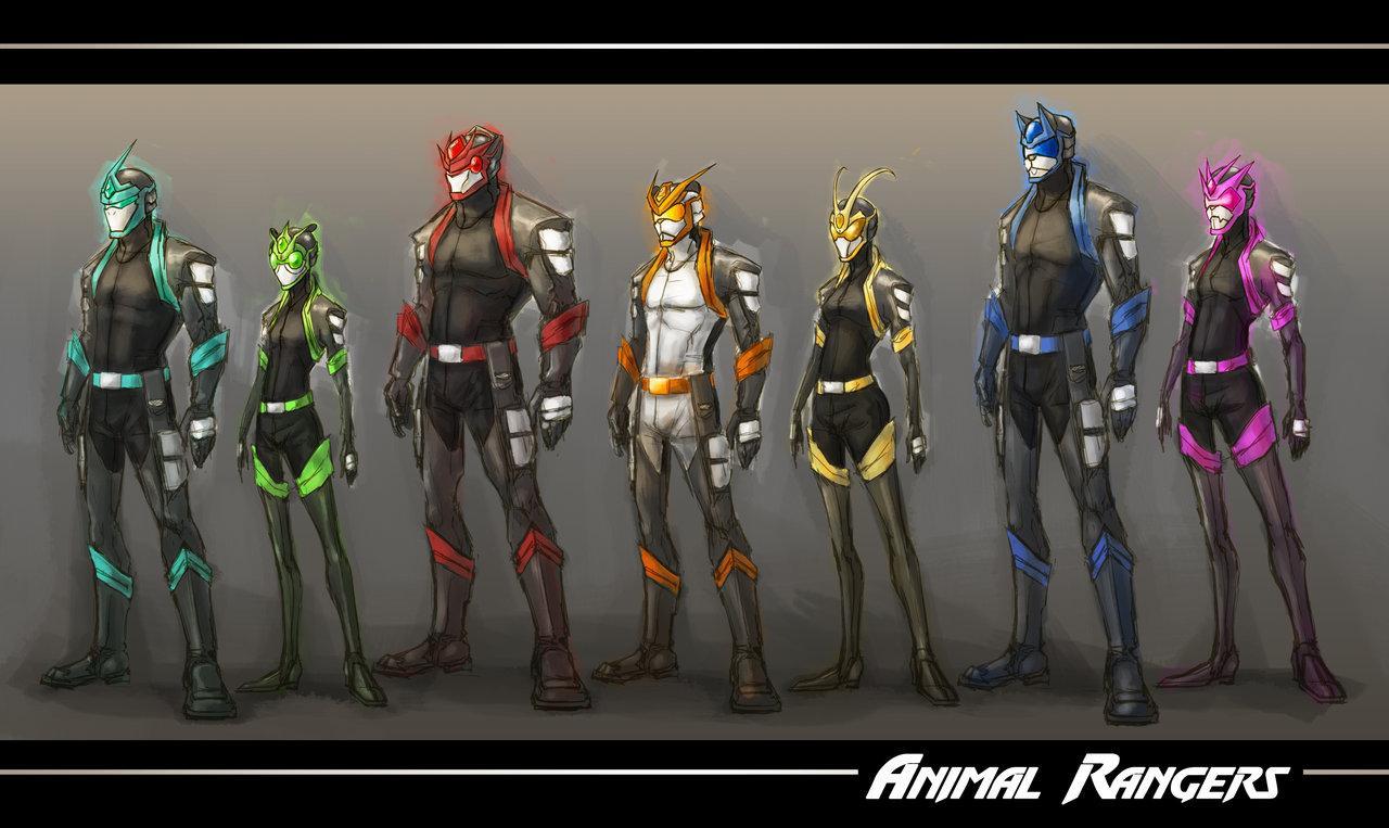 :WWP: Animal Rangers line up by *Tyshea