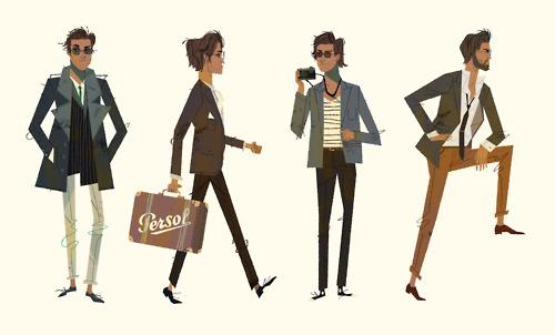 King of Day Dreamers. - kevindart: Mr. Persol Early Designs