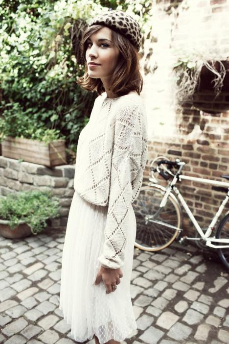 Fashionistas World: Alexa Chung on Vero Moda Lookbook