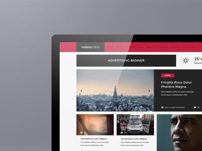 Indeksonline Web Portal & Magazine by Berin Hasi