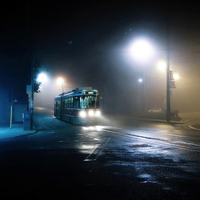 midnight tram to humber | Flickr - Photo Sharing!