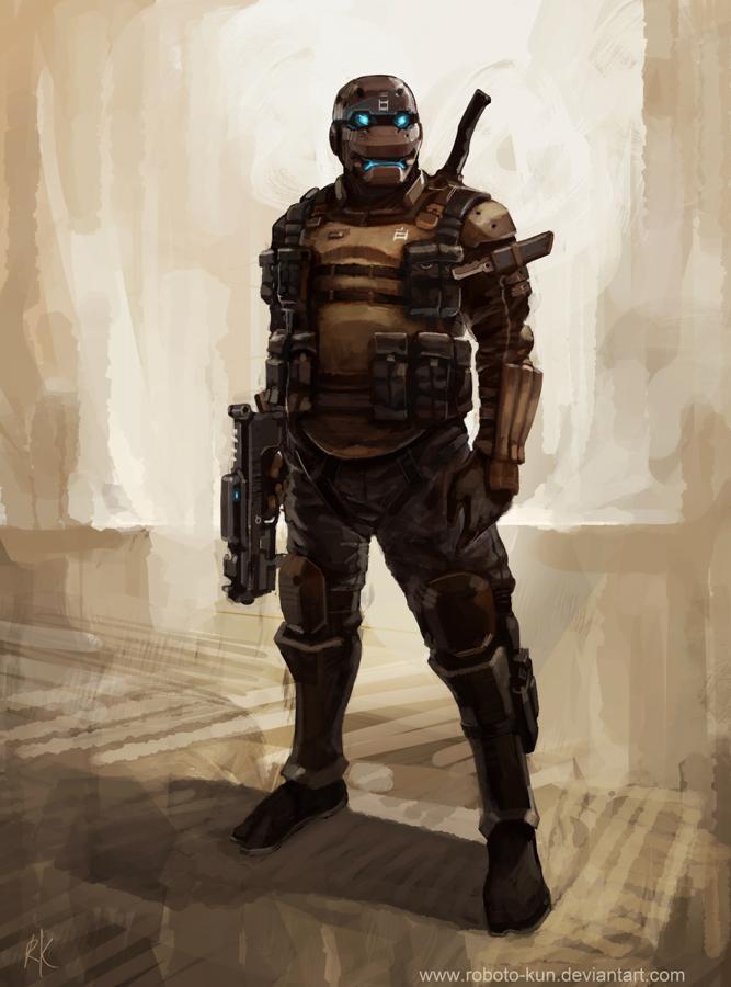 KABUKI trooper by ~Roboto-kun