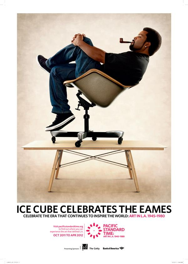 PST: Ice Cube Eames Poster Giveaway!
