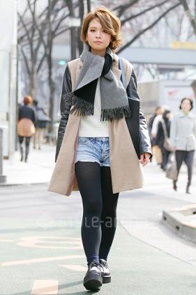 Mai Iwasaki's STYLE -TOKYO STREET STYLE?| ???????? style-arena.jp