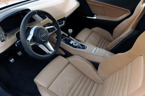 I love what Audi is doing with their interiors. - A. Pursuit