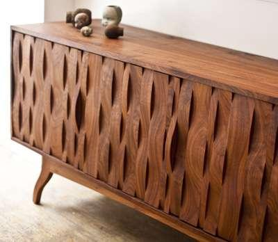 Coveted Credenzas - Caleb Woodard Furniture Pieces are Works of Art (GALLERY)
