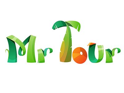 Mr Tour logotype by Evgeniya Rodina