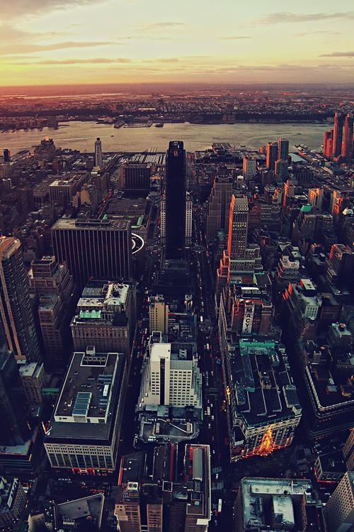 Imgflickr » Aerial view of New York City