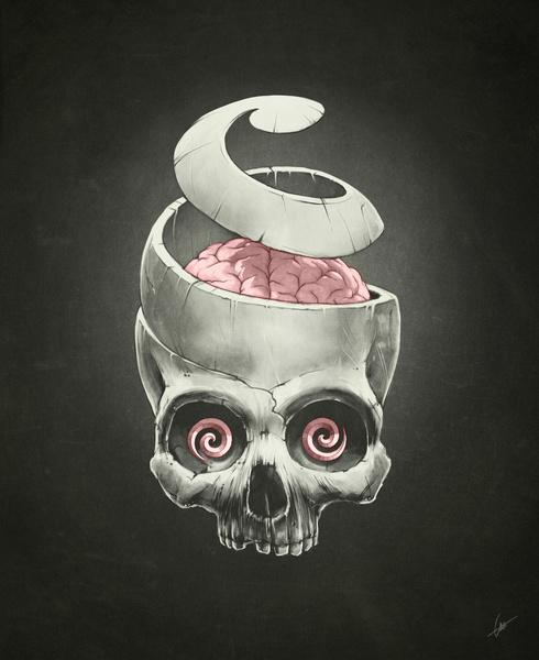 Open Your Mind! Art Print by Dr. Lukas Brezak | Society6
