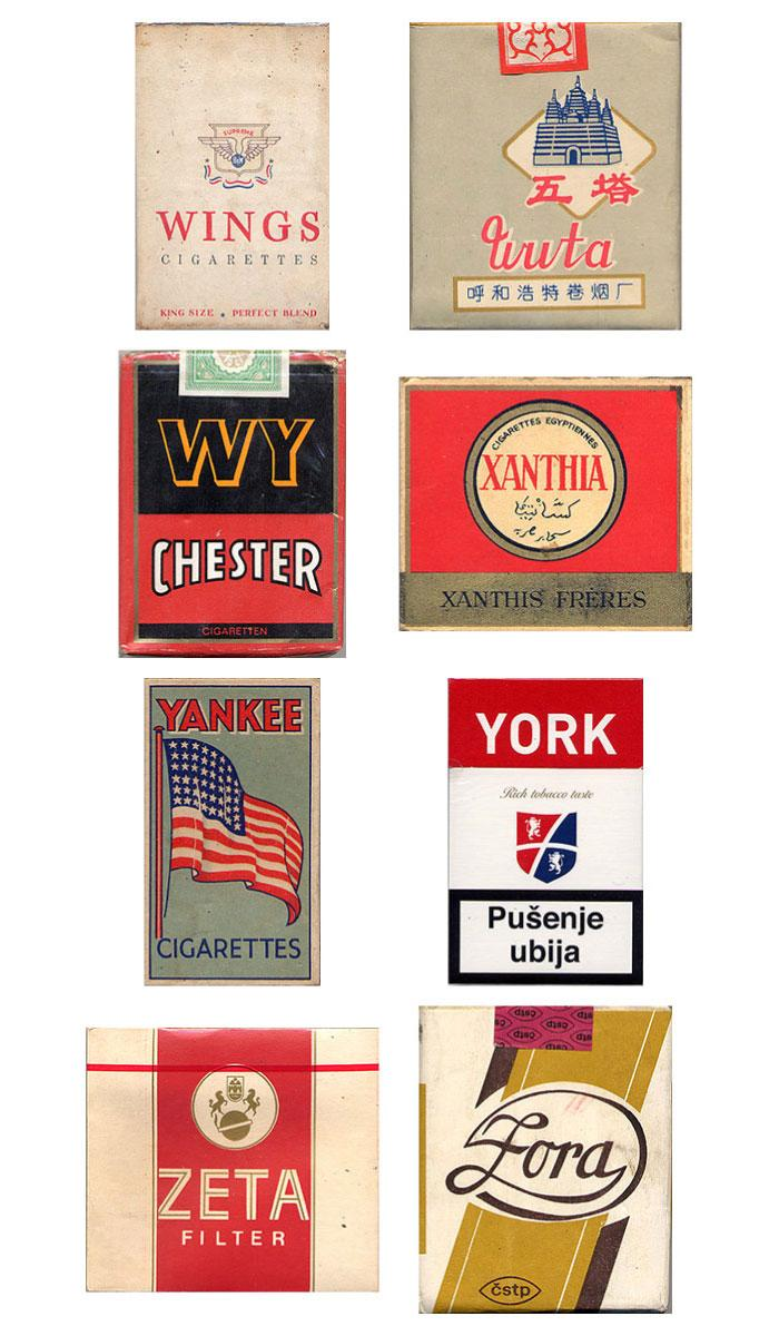 Vintage Packaging: Collection of CigarettePacks - The Dieline: The World's #1 Package Design Website -