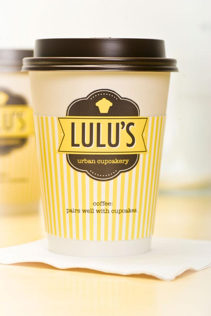 Lulu's Urban Cupcakery  - The Dieline: The World's #1 Package Design Website -
