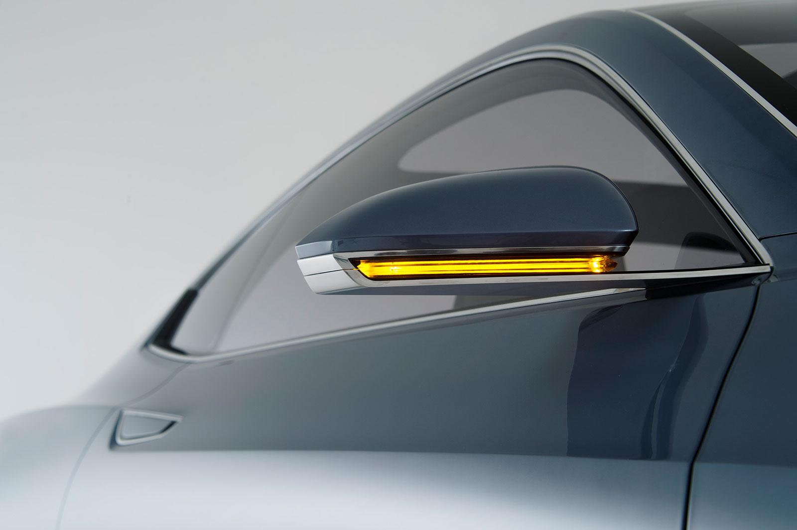 volvo concept coupe side mirror car body design. Black Bedroom Furniture Sets. Home Design Ideas