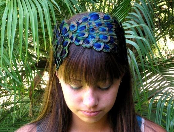 Peacock Headband | Uncovet