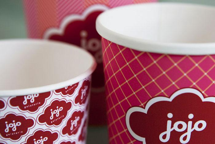 Jojo Gelateria - The Dieline: The World's #1 Package Design Website -
