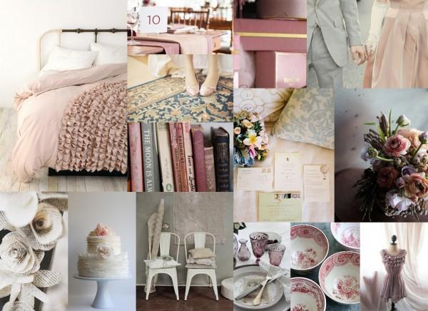 Mauve, Dusty Rose, Gray Wedding Inspiration Board | Elizabeth Anne Designs: The Wedding Blog