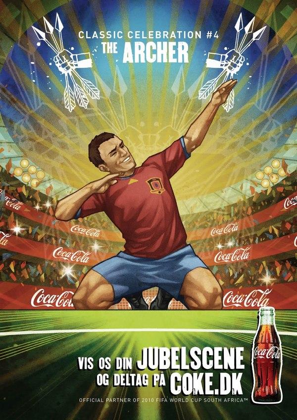 Nordic Coca-Cola FIFA World Cup 2010 Campaign