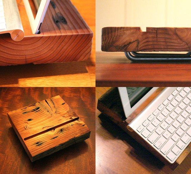 Industrial Modern iPad Stand | Fancy Crave