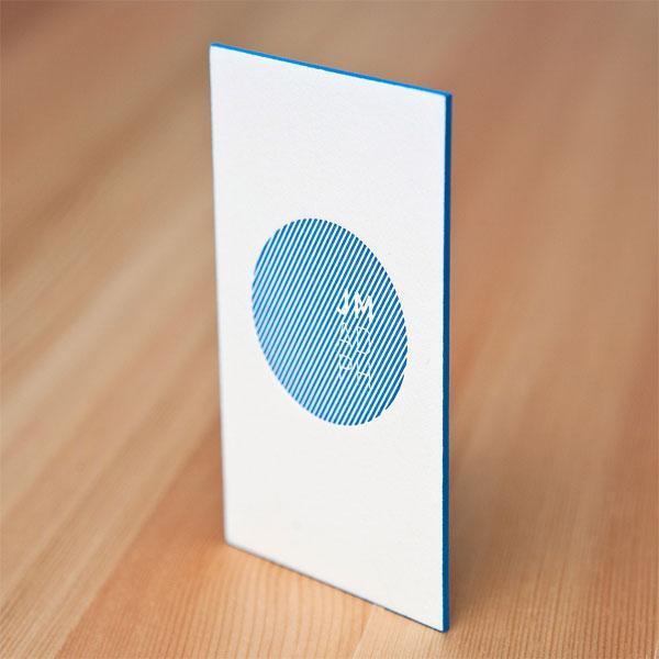 Juan Madrigal Business Card - FPO: For Print Only