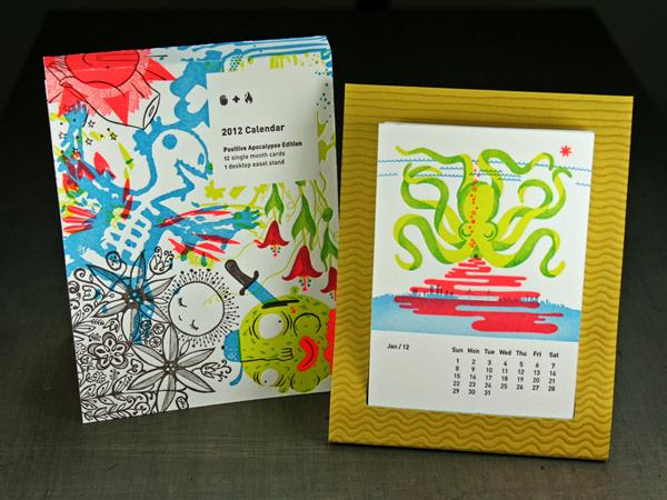 Studio on Fire Desk Calendar - FPO: For Print Only