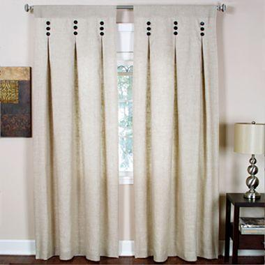 Murano Rod-Pocket Inverted Pleat Curtain Panel - jcpenney #301138 ...