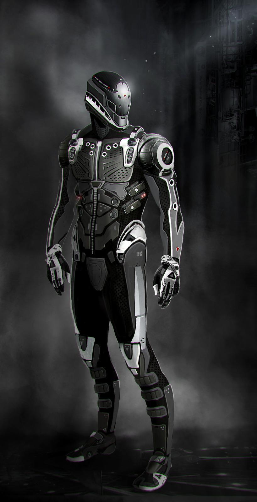 Suit concept by Bro-Bot - Eric Felten - CGHUB