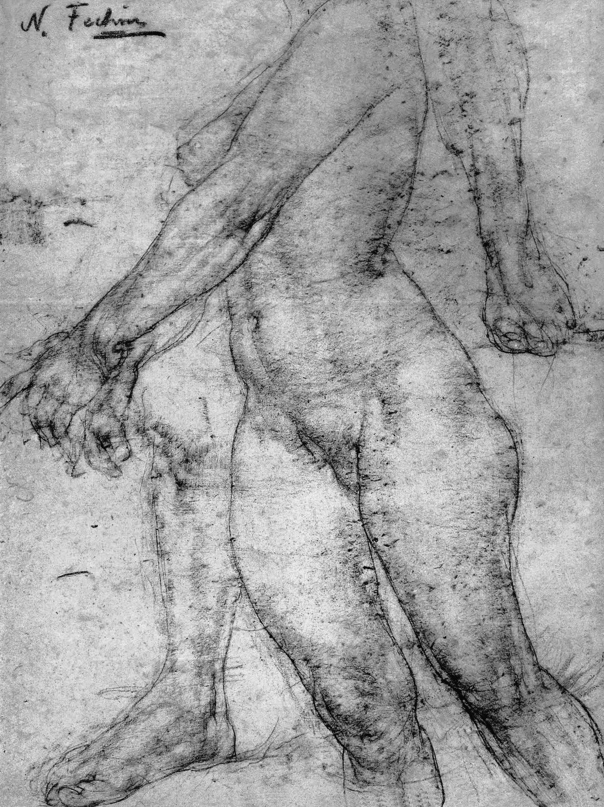 Художник рисует голую натурщицу 16 фотография