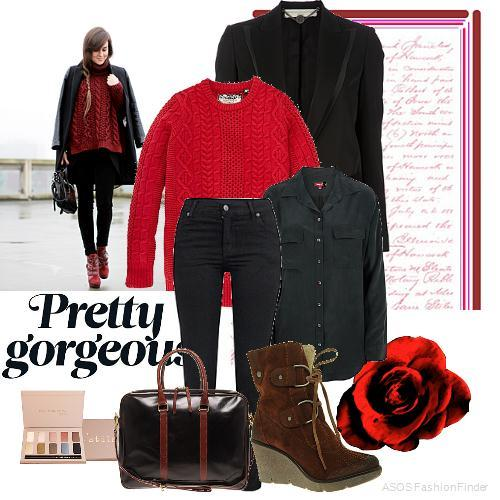 Work to Valentine's Day   Women's Outfit   ASOS Fashion Finder