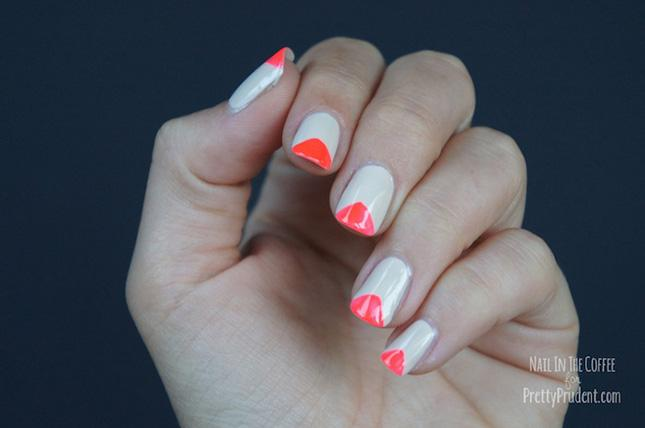 Triangle Nail Art DIY Tutorial | Hip Home Making