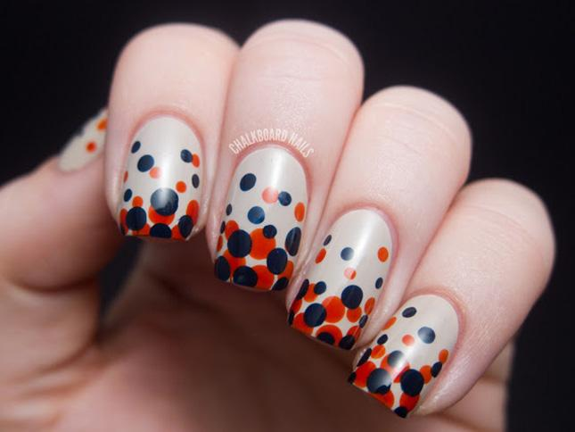 Dots Nail Art DIY Tutorial | Hip Home Making
