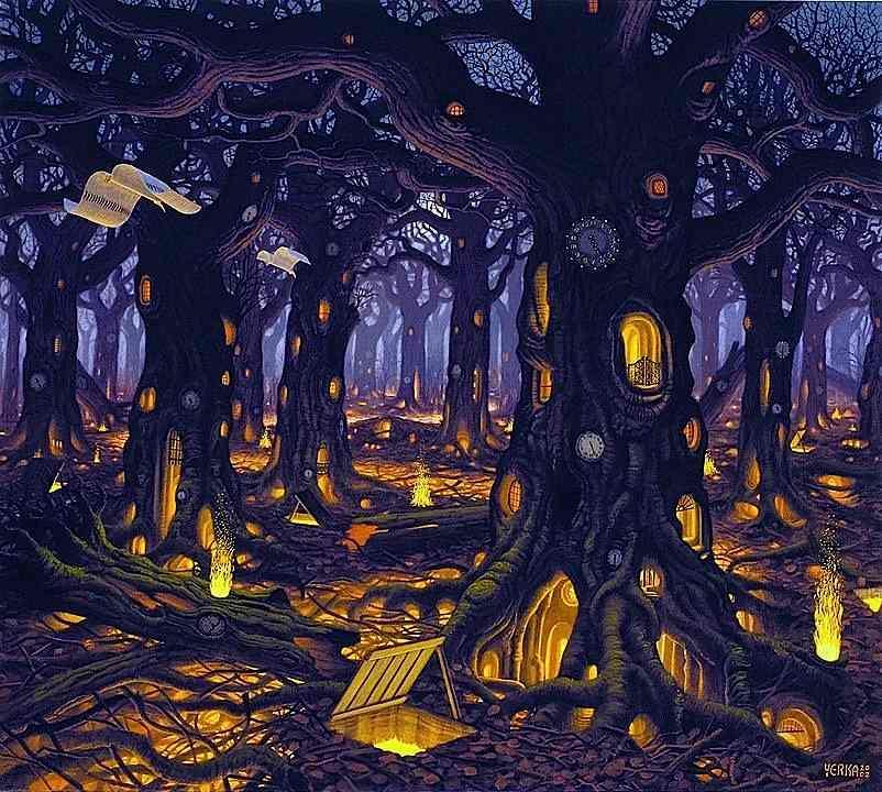 The Magical World of Jacek Yerka | Abduzeedo Design Inspiration