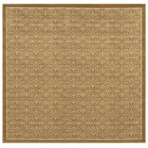 Mohawk Home Medici Apple Butter Pearl 8 ft. Square Area Rug-290436 at The Home Depot