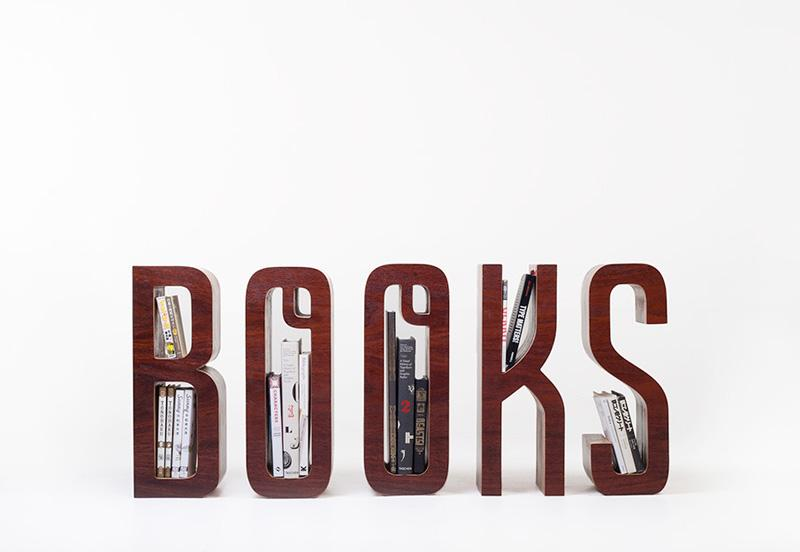 Letterform furniture by Matt Innes and Saori Kajiwara - The Fox Is Black