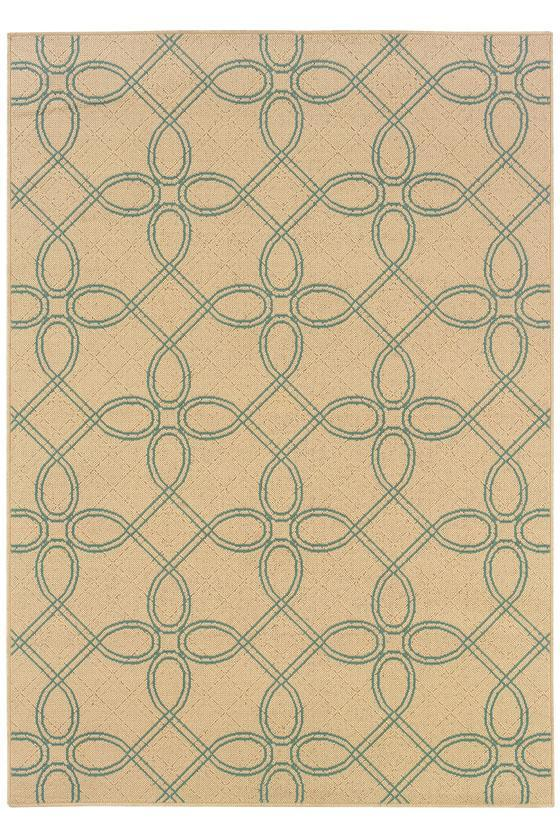Labyrinth Area Rug II - Outdoor Rugs - Synthetic Rugs - Rugs | HomeDecorators.com