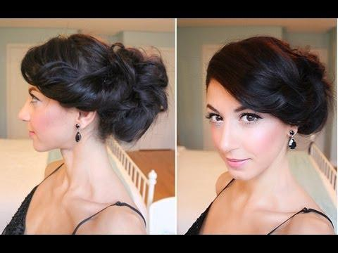 Celebrity Inspired Side Up-Do DIY Fashion Tips | DIY Fashion Projects