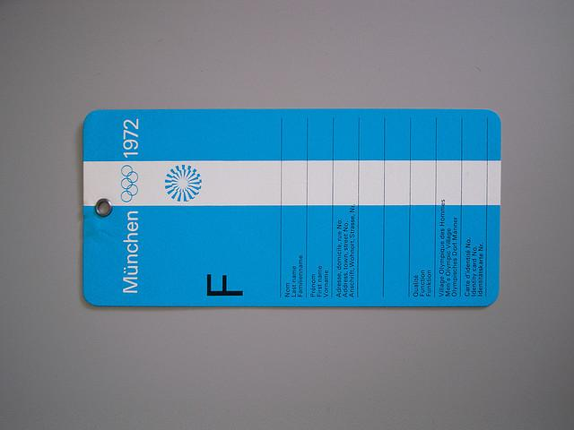 Munich Olympics, Luggage Tag | Flickr - Photo Sharing!